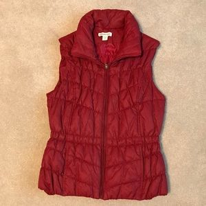 """Coldwater Creek """"puffy"""" vest"""